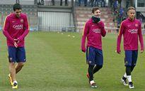 Tin HOT sáng 9/2: Messi nghỉ tập