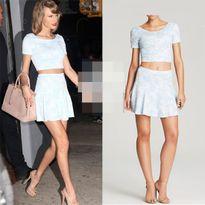 Taylor Swift dùng hàng hiệu giá rẻ vẫn đẹp