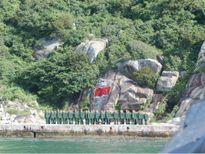 Cảm động với bản đồ Hoàng Sa, Trường Sa giữa đảo Mắt thiêng liêng