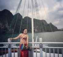 Hậu trường nóng bỏng màn múa bụng trên vịnh Hạ Long