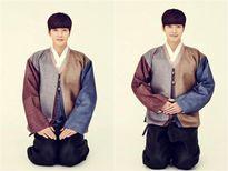 Sao Hàn diện hanbok mừng năm mới