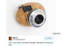 CEO Apple bị chế nhạo vì cầm iPhone chụp ảnh xấu