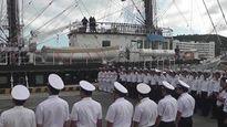 Hải quân Việt Nam có tàu buồm huấn luyện hiện đại