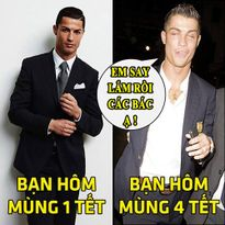 """ẢNH CHẾ (11.2): Ronaldo say """"bí tỉ"""", Gareth Bale làm HLV cho đội khỉ"""