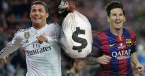 20 cầu thủ giàu nhất thế giới: Ronaldo, Messi vô đối