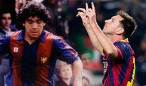 Messi đã vượt Maradona về sức chịu đựng