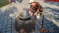 Chợ quê tái hiện không gian tết xưa thu hút khách du lịch ở Phong Nha