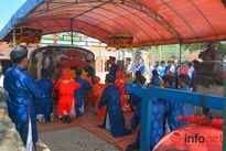 Lý Sơn khai hội đua thuyền đầu năm