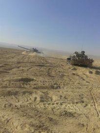 Quân đội Syria khởi động lại chiến cuộc Palmyra, diệt hơn 20 tay súng IS