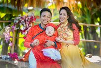 Ngắm các nhóc tì đáng yêu của sao Việt ngày Tết