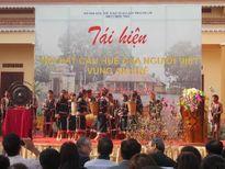 Tái hiện Hội hát cầu huê của người Việt ở vùng An Khê