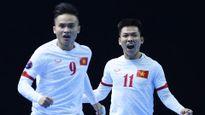 Đại thắng Tajikistan 8-1, ĐT futsal Việt Nam vào tứ kết futsal châu Á