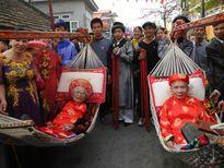 """Độc đáo lễ hội """"rước người"""" tại Quảng Ninh"""