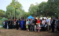Người Việt tại Nam Úc dâng hương Vua Hùng, mở hội chợ đón xuân Bính Thân