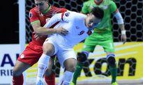 Clip thắng đậm Tajikistan, đội tuyển futsal VN cùng Thái Lan vào tứ kết