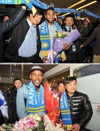 Alex Teixeira được chào đón như người hùng tại Trung Quốc