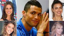 Gu của Ronaldo là những cô nàng... răng đẹp