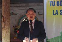 Khởi công xây dựng, tu bổ Đền thờ La Sơn Phu Tử Nguyễn Thiếp