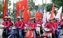 Gần 1.000 tình nguyện viên xếp hình hưởng ứng Lễ hội Xuân hồng