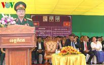 Campuchia hoàn thành trùng tu Đài tưởng niệm Quân tình nguyện Việt Nam