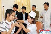 Giám sát tiêm vắc xin sởi - rubela tại Hà Tĩnh