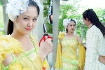 Mỹ nhân Hàn khoe sắc trong phim cổ trang Hoa ngữ