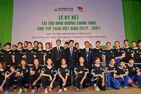 Thể thao Việt Nam được tài trợ dinh dưỡng tại Olympic 2016