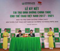 Herbalife cung cấp dinh dưỡng cho đoàn thể thao Việt Nam tại Olympic và Paralympic 2016