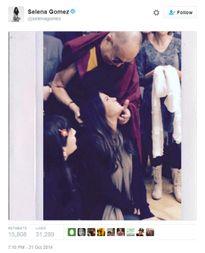 Selena bị cấm biểu diễn ở Trung Quốc vì bức ảnh từ 2 năm trước