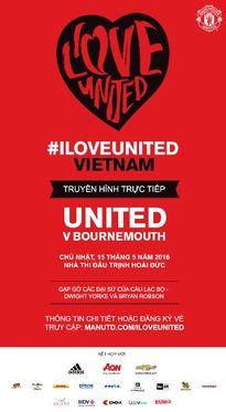 Cơ hội xem trực tiếp trận Man United - AFC Bournemouth