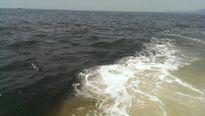 Dải nước biển có màu bất thường xuất hiện ở Hà Tĩnh