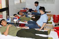 Hơn 540 đoàn viên Đại học An ninh nhân dân hiến tặng máu