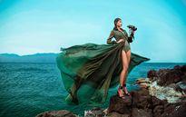 Siêu mẫu Minh Triệu ấn tượng và sexy với trang phục màu lính