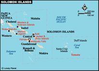 5 đảo của Solomon biến mất vì nước biển dâng