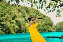 Hoa hậu Đền Hùng Giáng My đẹp mặn mà ở quốc đảo Palau