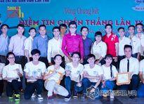 Á vương Ký Quốc Đạt ngồi 'ghế nóng' cuộc thi tài năng sinh viên tại Cần Thơ