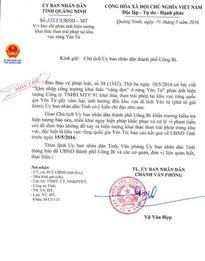 Quảng Ninh: Chỉ đạo hỏa tốc xử lý vụ khai thác than trái phép tại rừng quốc gia Yên Tử