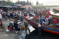 Nhộn nhịp mua bán hải sản sạch sau sự cố cá chết