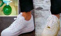 Thủ thuật đơn giản để giày lúc nào cũng trắng tinh