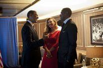 Những hình ảnh đẹp của Tổng thống Mỹ với giới showbiz