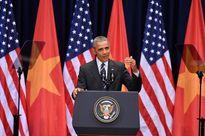 Những hình ảnh đẹp về Tổng thống Obama trong ngày thứ hai ở Việt Nam
