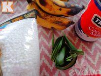 Chè chuối cốt dừa ngon mát, ngọt thơm