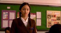Sao nữ tỏa sáng trong phim với đồng phục học đường