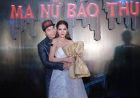 Trương Nam Thành ân cần đỡ váy áo cho 'người tình' Mai Hàn