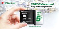 Ra mắt dòng thẻ tín dụng quốc tế ưu việt dành cho doanh nghiệp