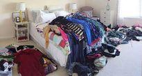 Bị 'cắm sừng', chồng bán sạch quần áo vợ