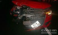 Nam thanh niên bị 'xế sang' Audi tông văng hàng chục mét, tử vong