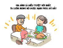 Hí họa: Với bạn, gia đình có ý nghĩa như thế nào?