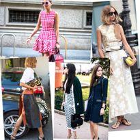 Khám phá phong cách công sở của quý cô thời trang quốc tế