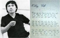 Ngoài bài 'Tiếng Việt', không hiếm lần thơ Lưu Quang Vũ phải sửa